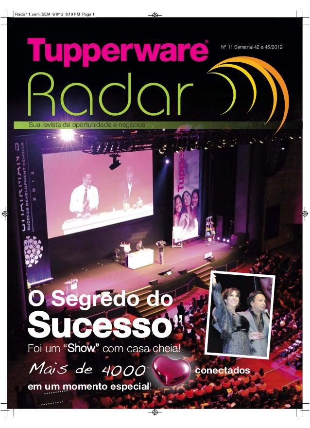 Radar11_sem_SEM 9/6/12 6:19 PM Page 1                                                   Nº 11 Semanal 42 a 45/2012      Su...