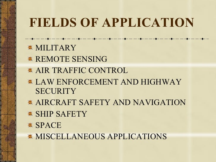Radar Application