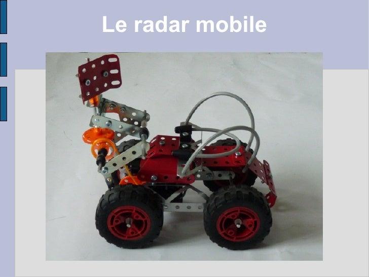 Le radar mobile