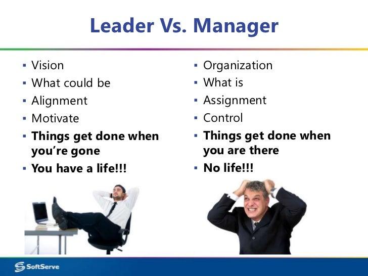 Leader Vs. Manager▪ Vision ▪