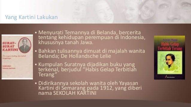  Menyurati Temannya di Belanda, bercerita tentang kehidupan perempuan di Indonesia, khususnya tanah Jawa.  Bahkan tulisa...
