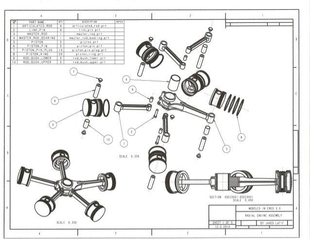 Radial engine sheet 1
