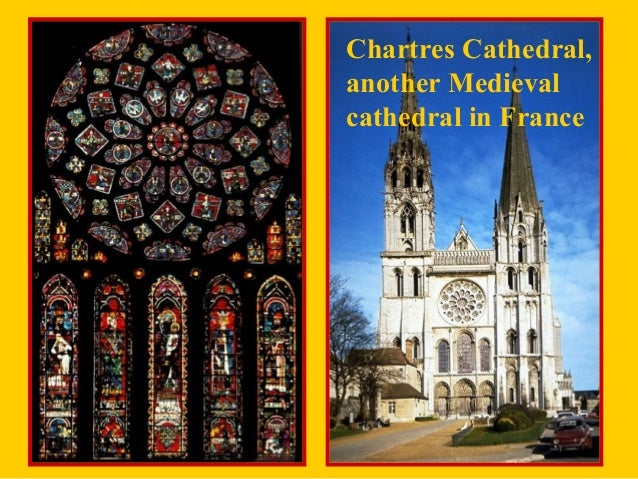 chartres cathedral essay We have read lisa victoria ciresi's essay on the karlsschrein and  a statue of  mary sewing is included in chartres cathedral where her veil.
