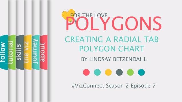 CREATING A RADIAL TAB POLYGON CHART BY LINDSAY BETZENDAHL about journey theviz skills tutorial follow #VizConnect Season 2...