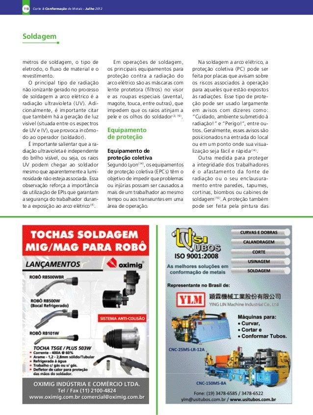 17563f1b34874 Radiação soldagem revista corte e conformação
