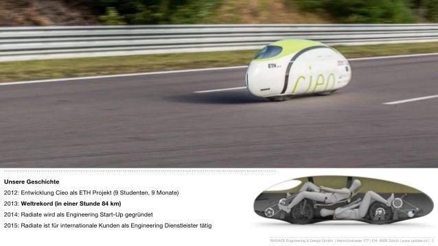Radiate Engineering – Vortrag über simulationsgetriebene Produktentwicklung Slide 2