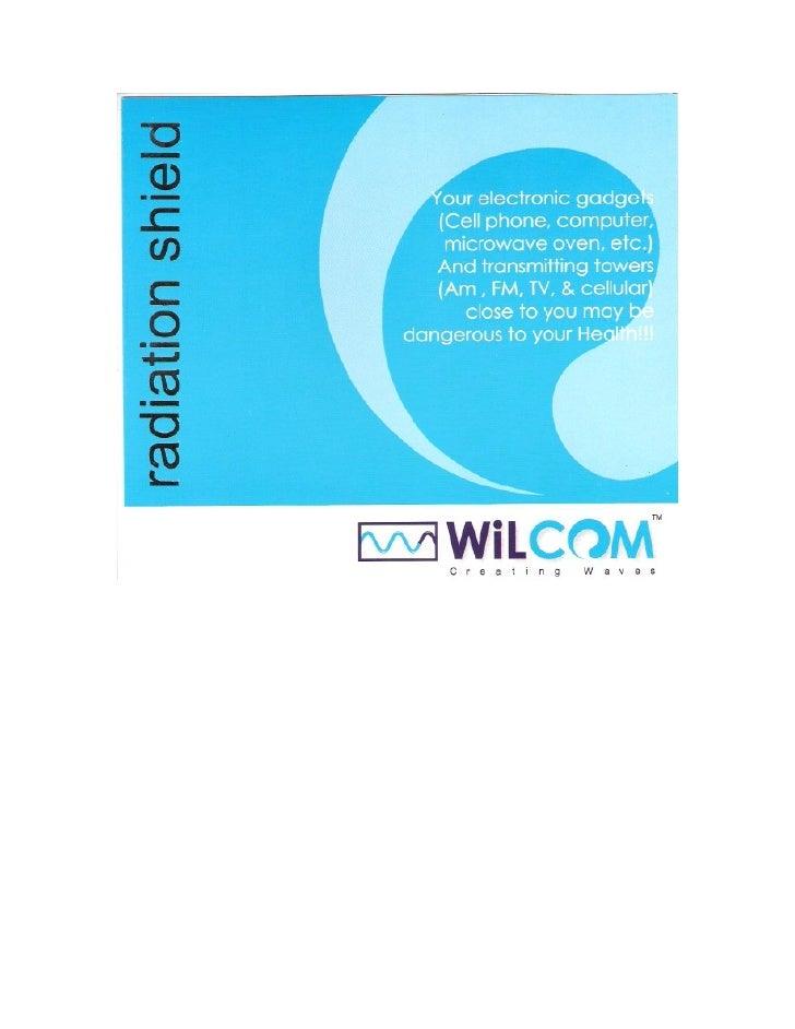 Radiation  Shield  Brochure