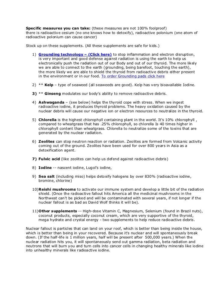 Radiation exposure Slide 2