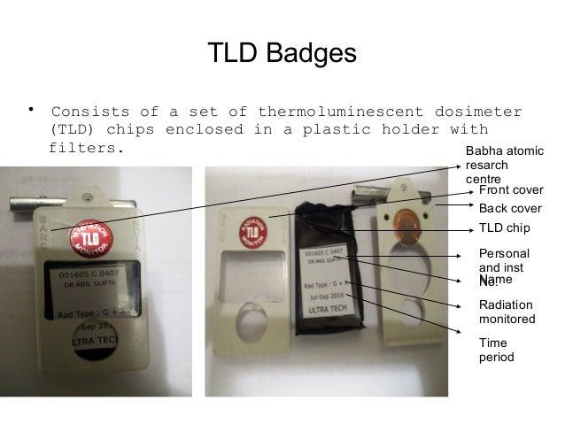 Pocket Dosimeters  Provides the wearer the immediate reading of exposure