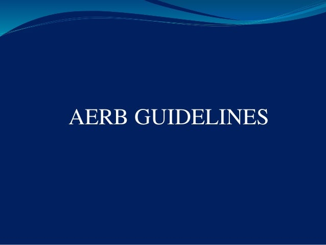 Aerb Guidelines For X Ray Room Layout Aerb Guidelines For