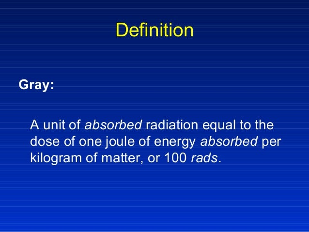 Radiation Therapy Gopaul