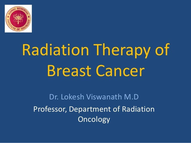 Radiation electrons breast cancer