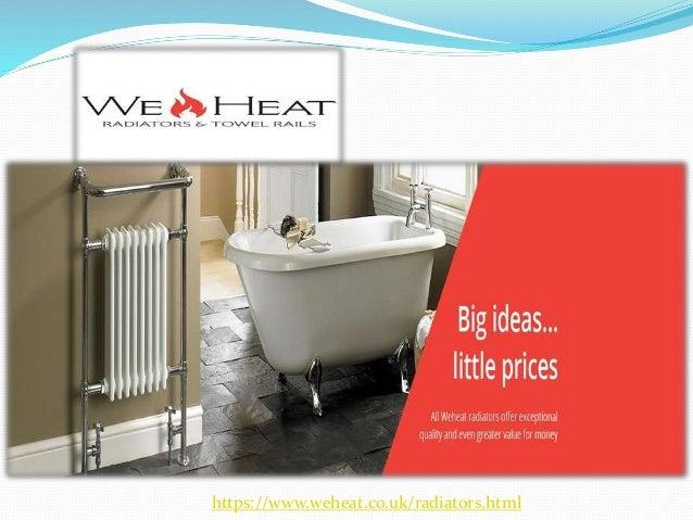 https://www.weheat.co.uk/radiators.html