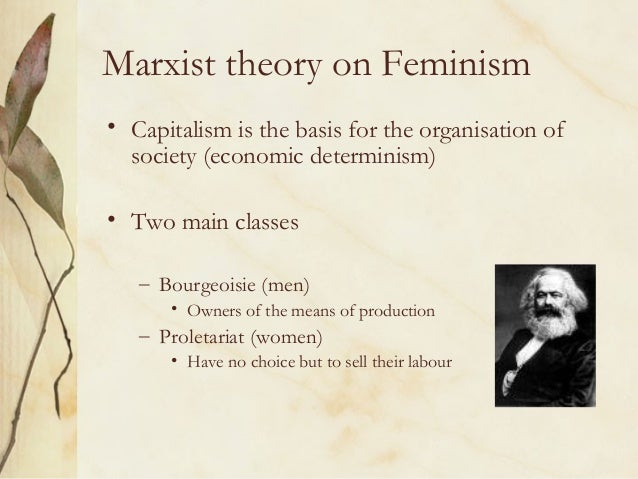 the theory of feminism