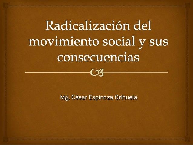 Mg. César Espinoza Orihuela