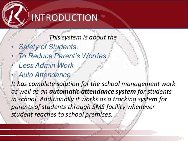 Radical Rfid School Management System Ppt