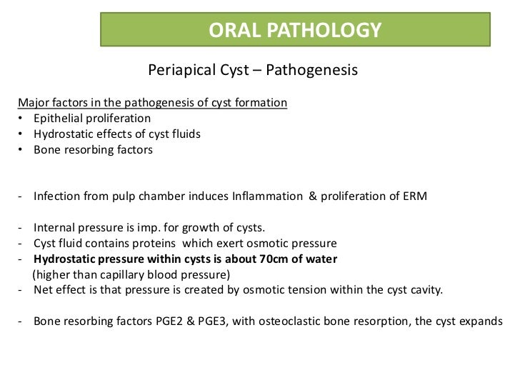 Odontogenic cysts and tumors ppt video online download.
