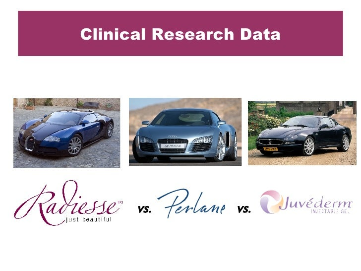 Clinical Research Data vs. vs.