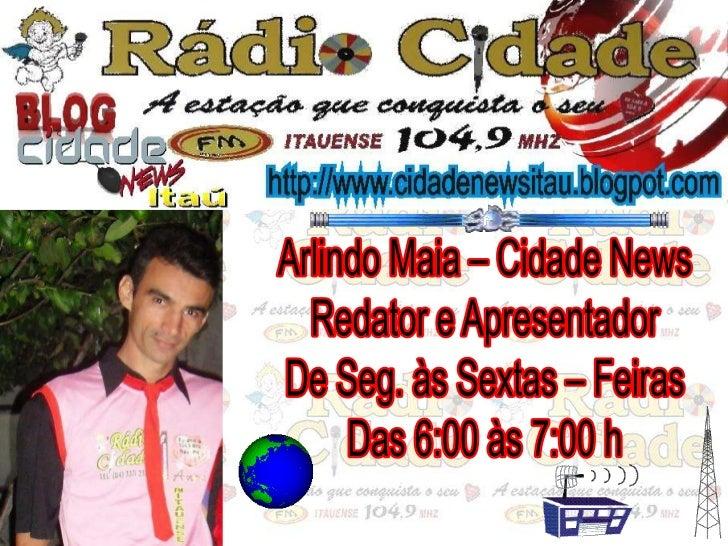 Programas da Rádio Cidade
