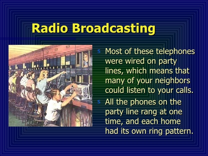 Radio Communication Slide 3