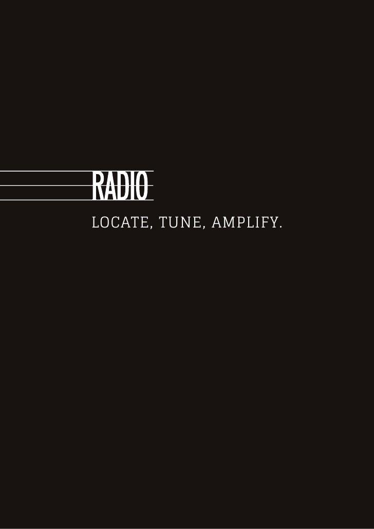 Locate, Tune, Amplify.