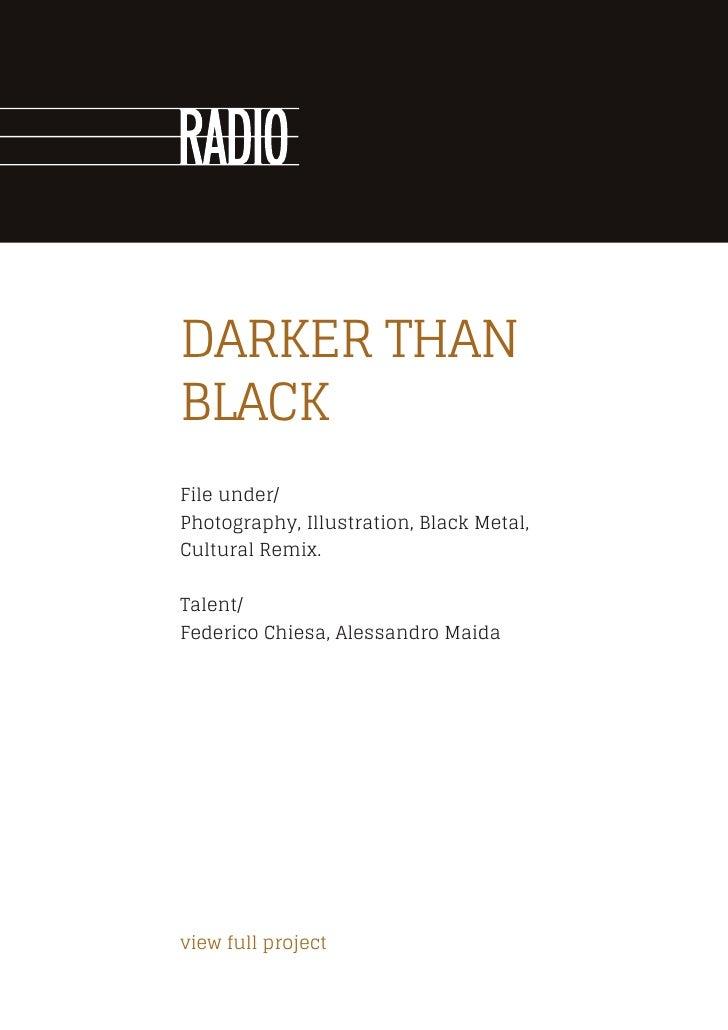 Radio Agency - profile 2012