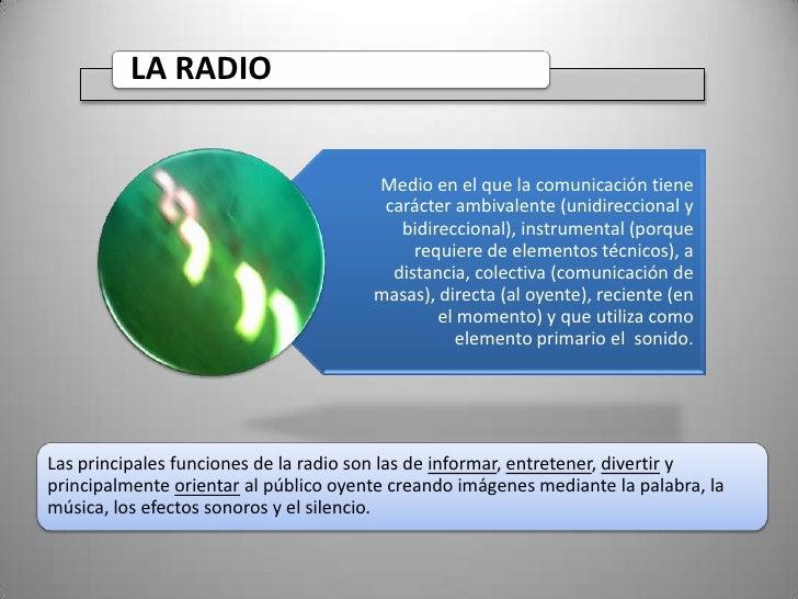 Clase 2 Radio   concepto ventajas y limitaciones