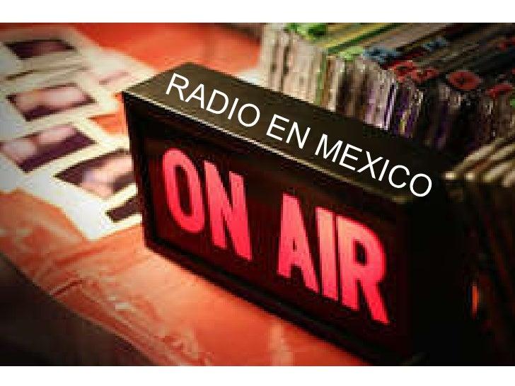 RADIO EN MEXICO