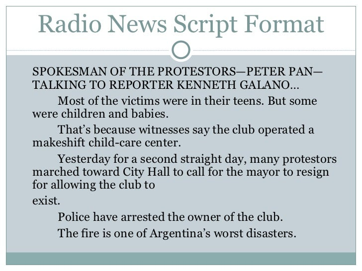 Radio news-reporting-lecture-