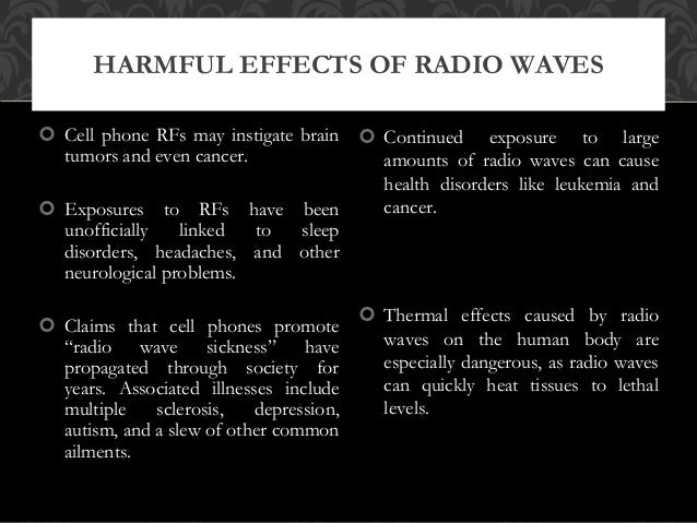 Are radio waves dangerous to humans?