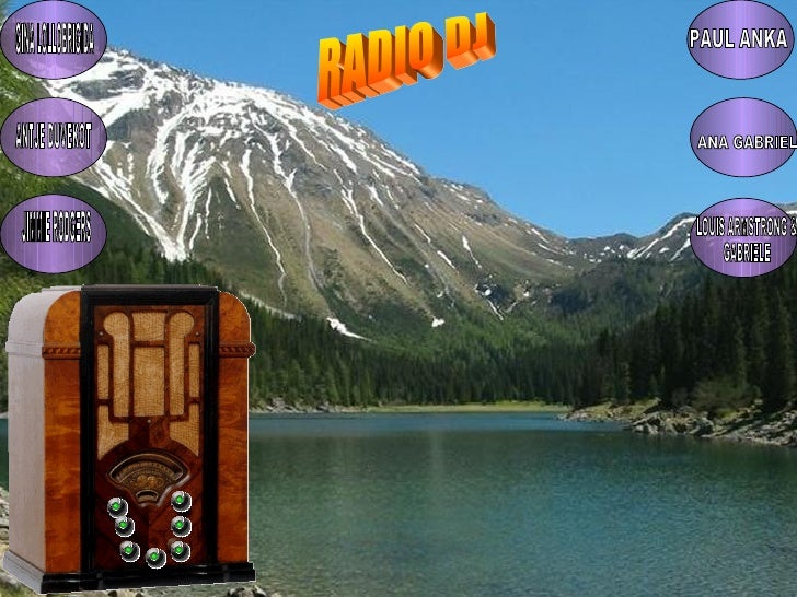 RADIO DJ GINA LOLLOBRIGIDA ANTJE DUVEKOT JIMMIE RODGERS PAUL ANKA ANA GABRIEL LOUIS ARMSTRONG & GABRIELE