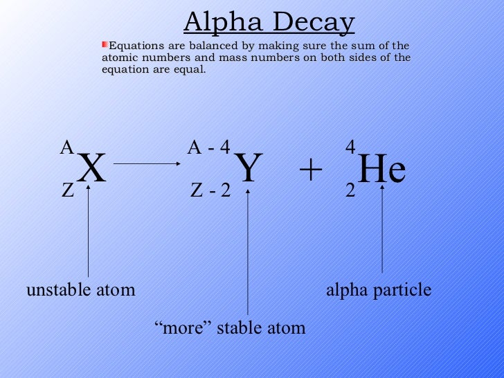 Carbon dating decay equation for cesium