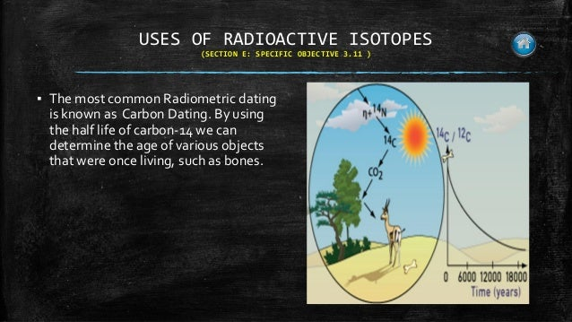 Uses of nuclear radiation in carbon hookup