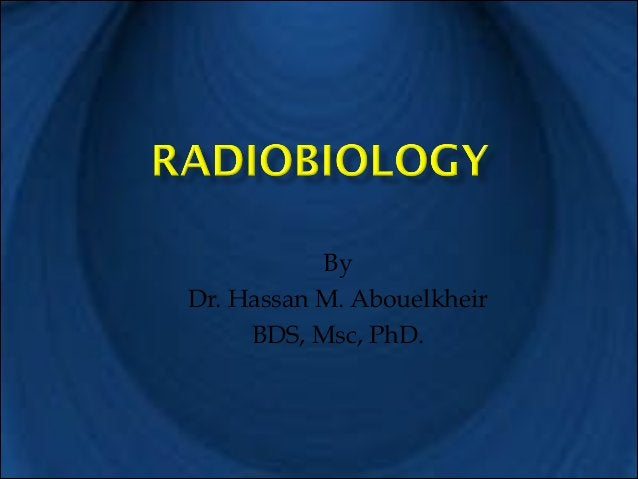 By Dr. Hassan M. Abouelkheir BDS, Msc, PhD.