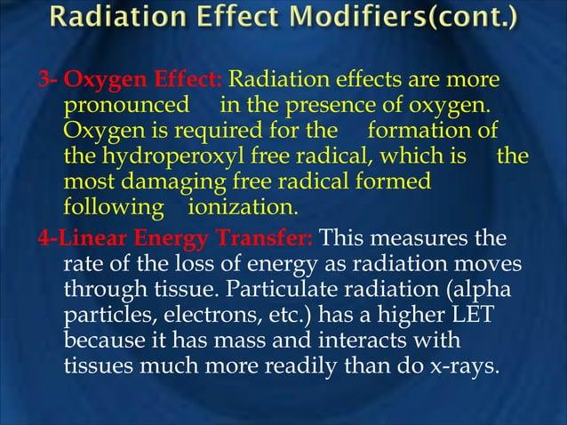 !  !  Treating radiosensitive oral malignant tumors depends on many factors such as radiosensitivity , histology, size, lo...