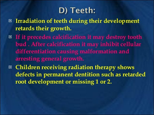 It is a rampant form of dental decay result from radiotherapy of salivary glands leading to xerostomia which causes caries...