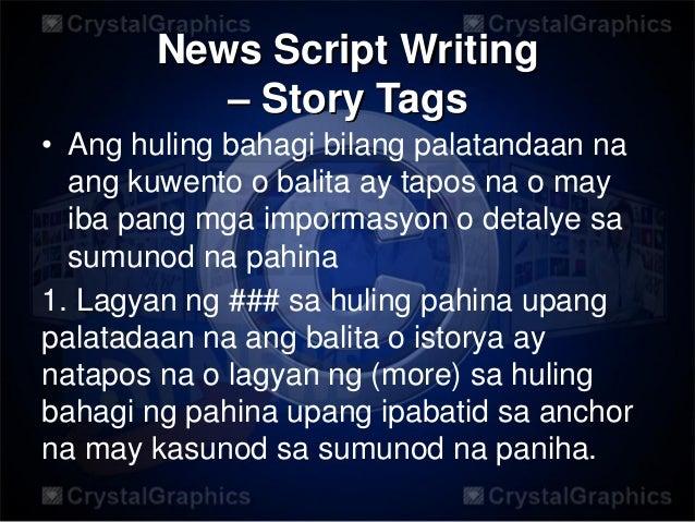 Broadcast News Script Example – Home Exsplore