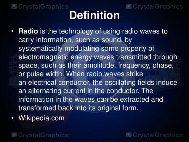 Radio broadcast 2 Slide 3
