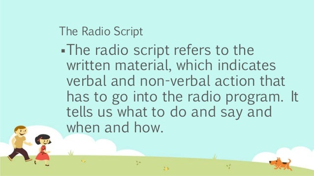 thesis about radio broadcasting Expense of radio broadcasters and listeners (crider, 2012)  this thesis did not  find other research articles that chose to highlight the combination of multiple.