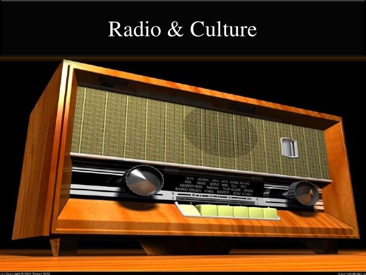 Radio & Culture<br />
