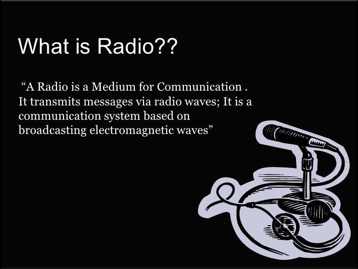 Radio & Culture Slide 2