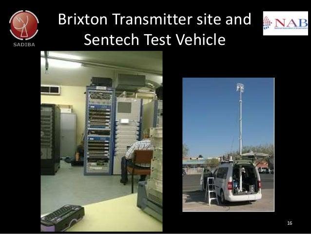 Brixton Transmitter site and Sentech Test Vehicle 16