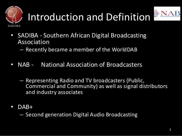 Radio days Africa  2016: DAB update Slide 3