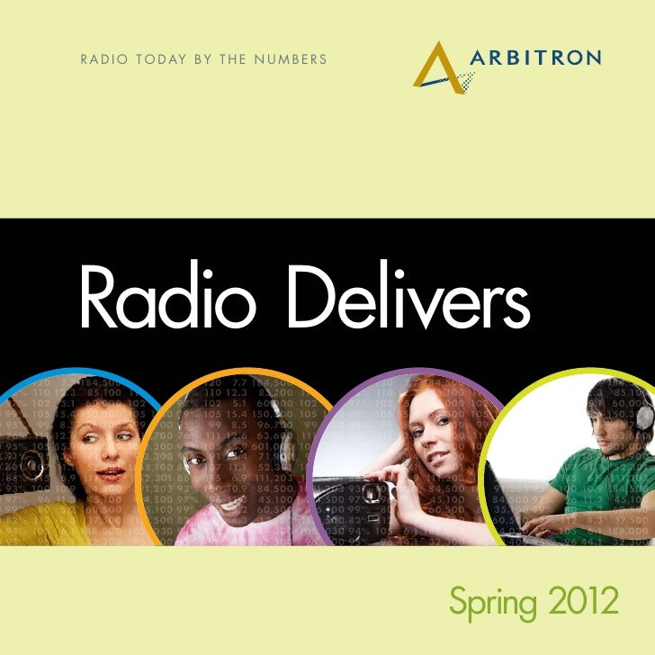 R a d i o T o d ay B y t h e N u m b e r s 00 95% 0      1.10%               Radio Delivers3% 88% 1.20% 274,300 104 11.20%...