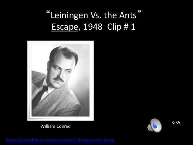 leiningen versus the ants essay