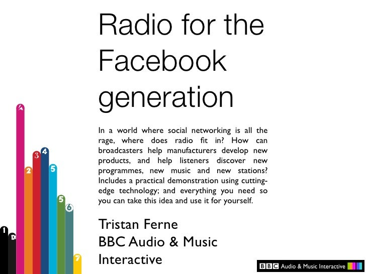 Radio for the Facebook generation In a world where social networking is all the rage, where does radio fit in? How can broa...