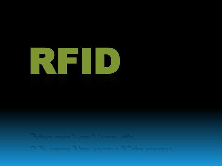 به نام خداوند بخشنده و مهربان<br />RFID<br />شناسایی از طریق فرکانس رادیویی<br />تهیه کننده: راحله رحمت سمیعی<br />دانشکده...