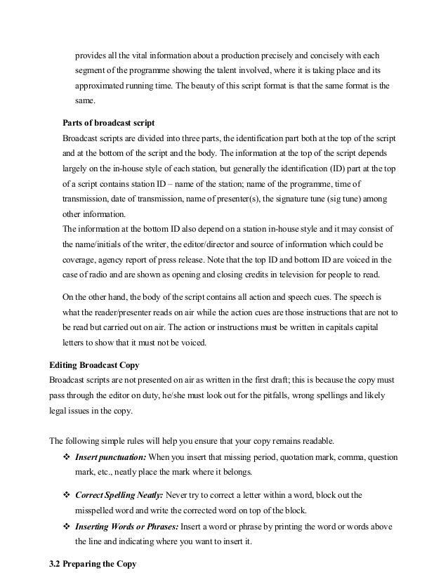 radio script sample pdf