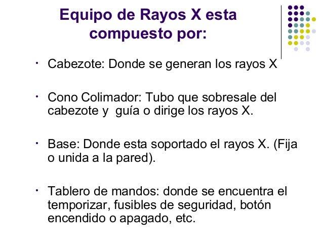 Radiologia def for Cuarto de rayos x odontologia