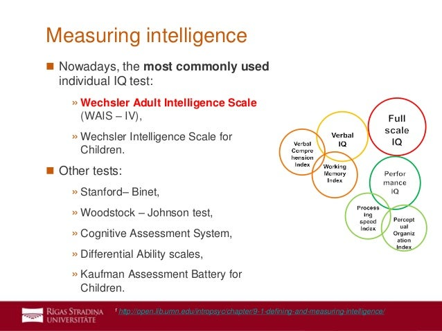 intellligence in everyday life and problems with measuring iq Intelligence: key players in the history & development of intelligence & testing  30 short tasks related to everyday problems of life (eg  revision the .